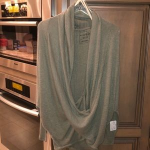 Free People olive green Top